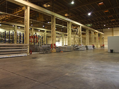 leaseback warehouse under commercial property management by Industrial Commercial Properties